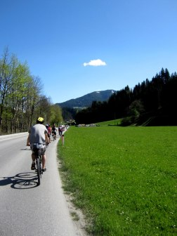 Biking in Austria
