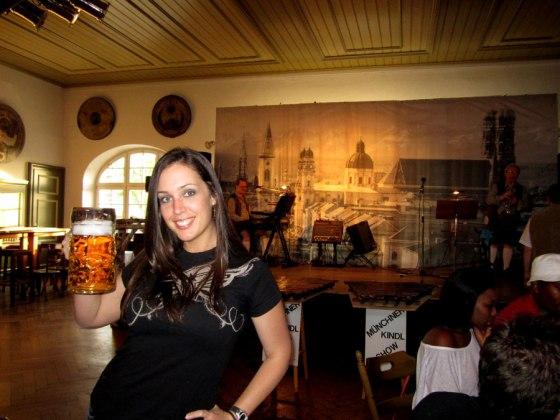 Bavarian beer hall