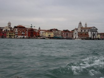 Boating on the Canals of Venice