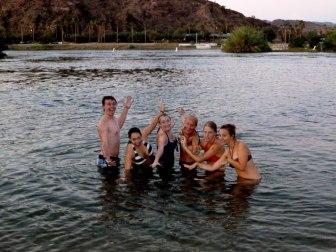 Swimming in the Colorado River