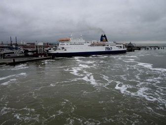 P&O Ferries to cross the channel