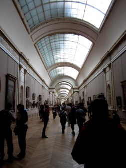 Inside the Louvre