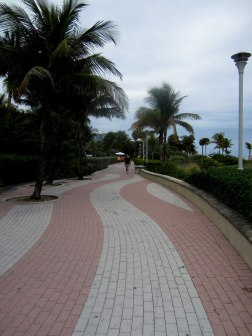 South Beach boardwalk