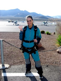 Third time's a charm for skydiving