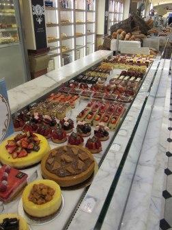 Desserts at Harrods