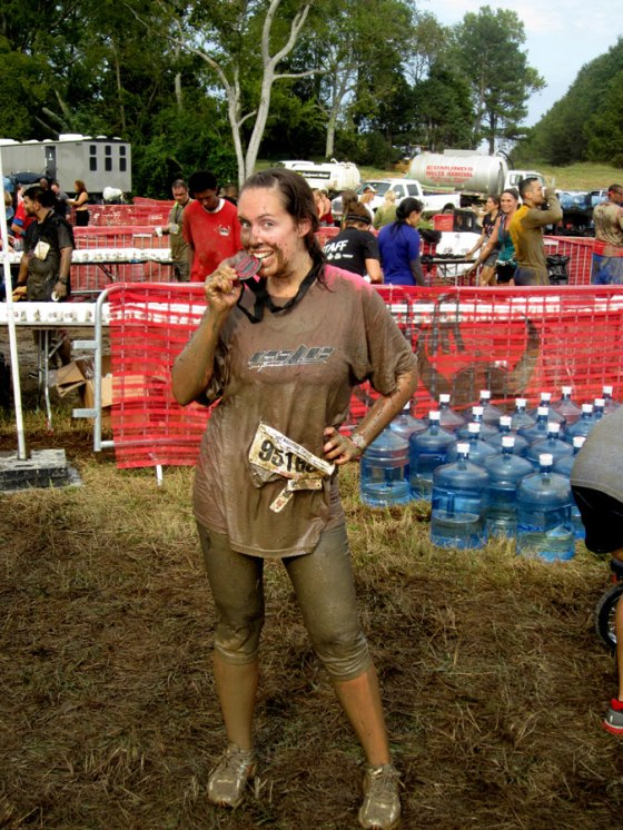 Warrior Dash WINNER!