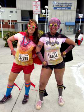Color Me RAD Race with Lina