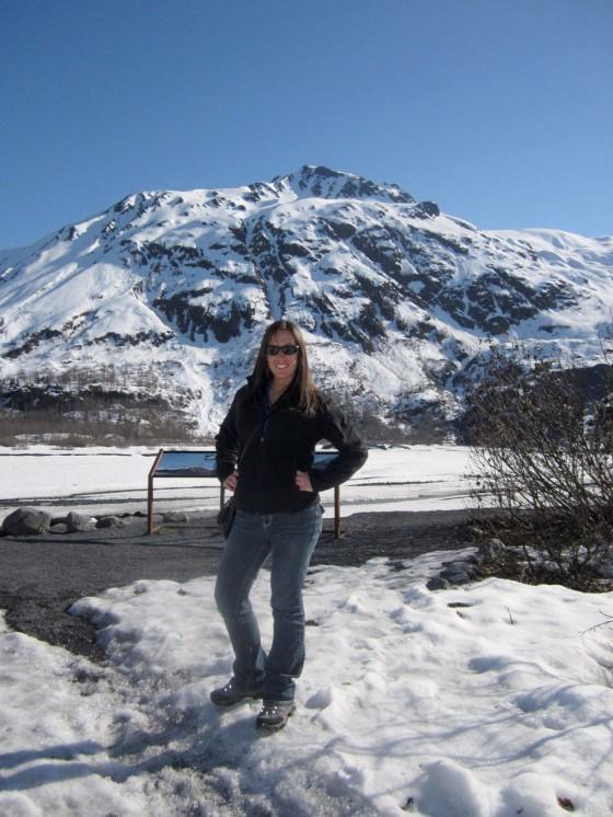 Hiking to Exit Glacier in Seward