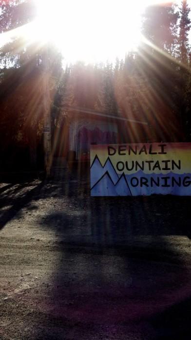Denali Mountain Morning Hostel. GREAT PLACE!