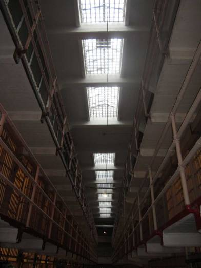 Main cellblock of Alcatraz