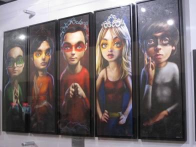 Big Bang Theory Artwork