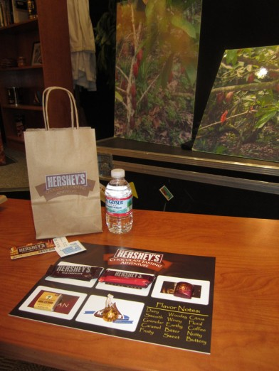 Hershey World Chocolate tasting
