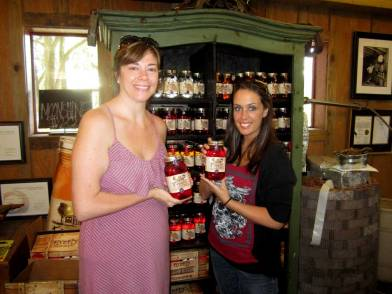 Jocelynn and me with the Moonshine