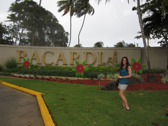 At the Bacardi Distillery