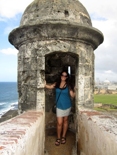 San Cristobal Fort in Old San Juan