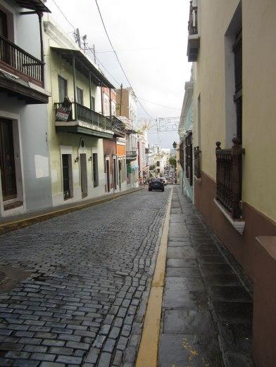 Streets in Old San Juan