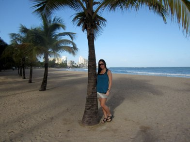 Isla Verde beach outside the resort