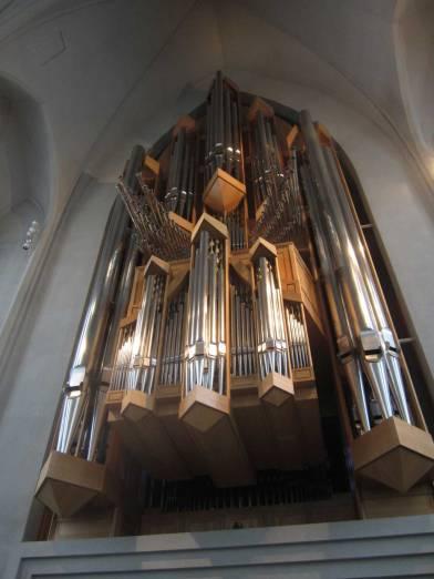 Organ in the Hallgrimskirkja church