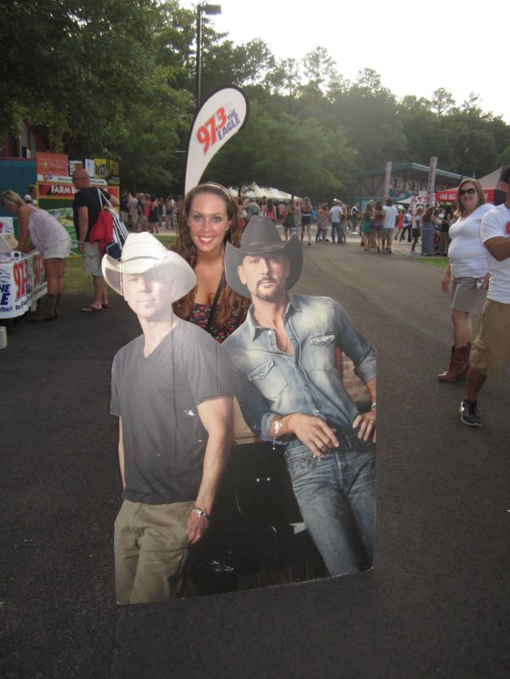 I know one of these is Tim McGraw....wait. Right??