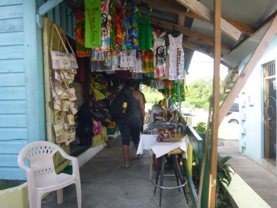 Ochos Rios Craft Shopping