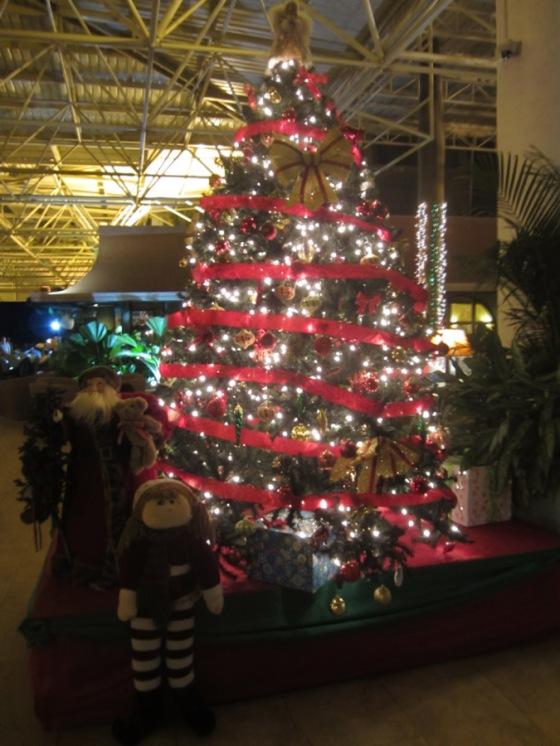 Resort Christmas tree