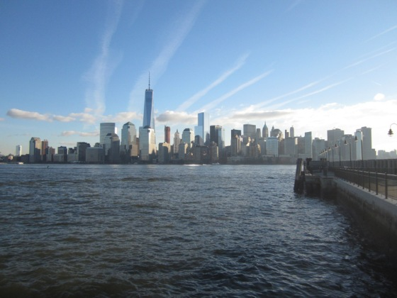 View of downtown Manhattan from Liberty State Park