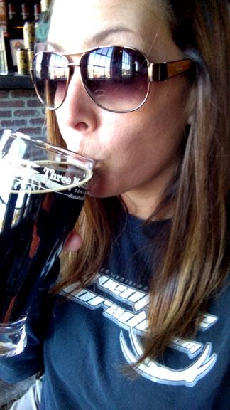 Three Notch'd Brewery's Java Jack Beer