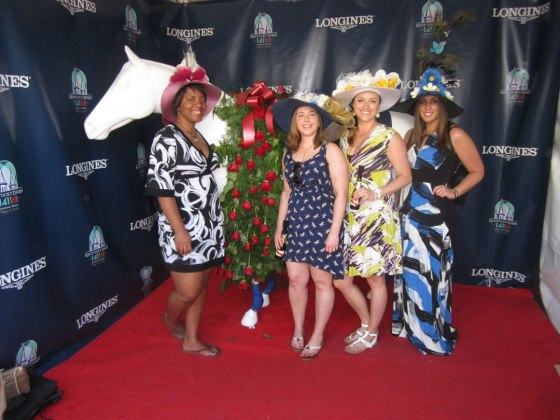 Derby with Lina, Katie and Krista
