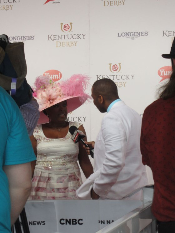 Star Jones on the Red Carpet