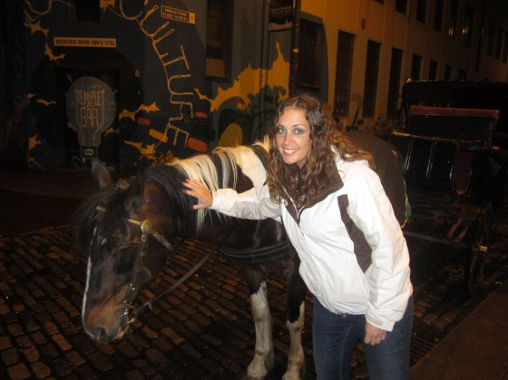 Horses at Temple Bar
