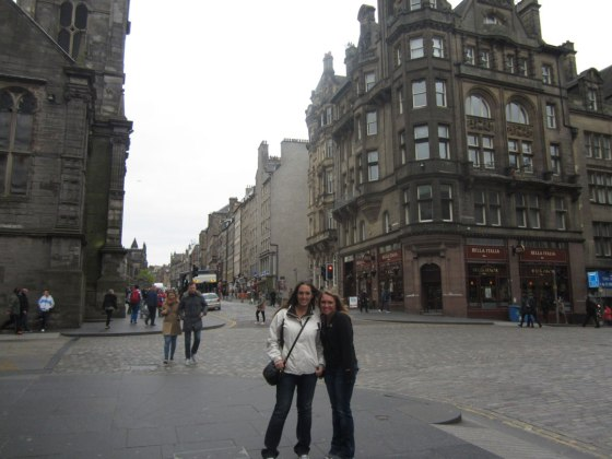 Royal Mile with Lori
