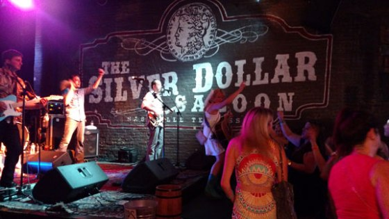 Silver Dollar Saloon on 2nd and Broadway