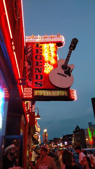Legends Corner on Broadway