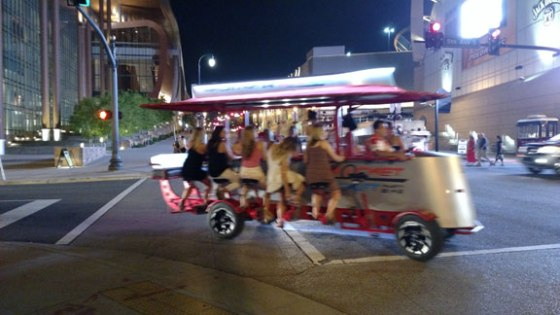 Beer trolley, with more brides