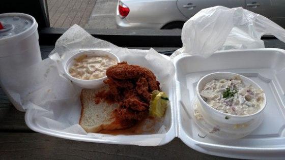 Hot Chicken at Hattie B's