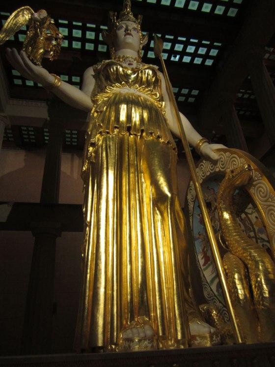Nashville Parthenon Athena statue