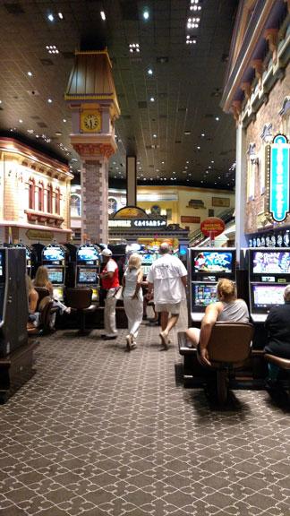 Casino gaming area