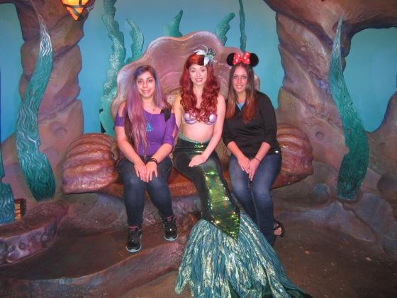 Meeting Ariel!
