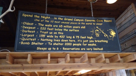 Grand Canyon Caverns Hotel sites