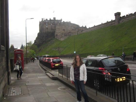 Edinburgh Castle, home of the Stewart Reign