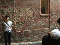 Gum wall in Pikes Place