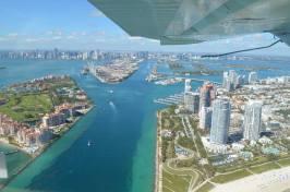 Seaplane tour of Miami. Nov 2017