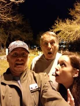 St Augustine Ghost hunting with Dad. Feb 2018