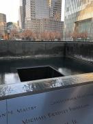 World Trade Center Memorial, NYC Xmas trip. Dec 2017