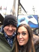 Seeing Phantom of the Opera in NYC. Dec 2017