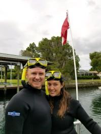 Crystal Springs Manatee snorkel tour. Nov 2017